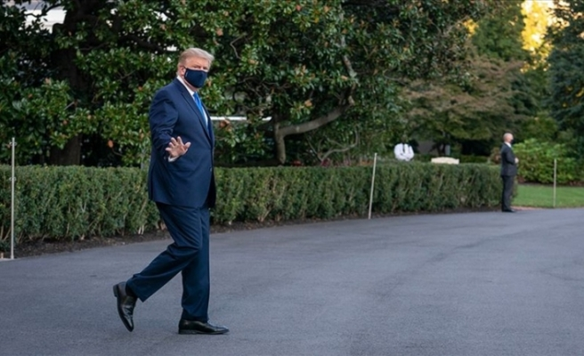 ABD Başkanı Trump önlem amaçlı hastaneye götürülüyor
