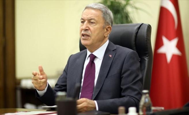 """Akar: """"Ermenistan'ın Karabağ'ı işgali ve katliamları karşısında suspus olanların sergiledikleri tavır iki yüzlülüktür"""""""