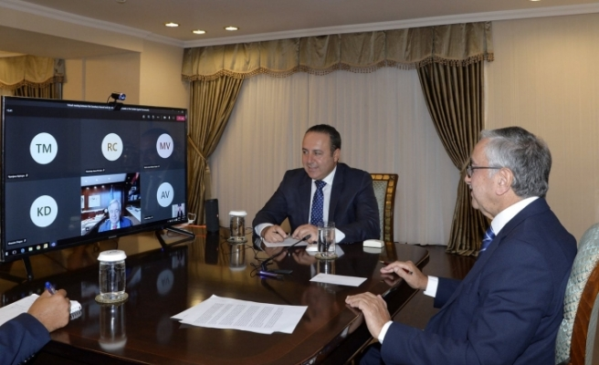 Akıncı, BM Genel Sekreteri ile video konferans görüşmesi yaptı