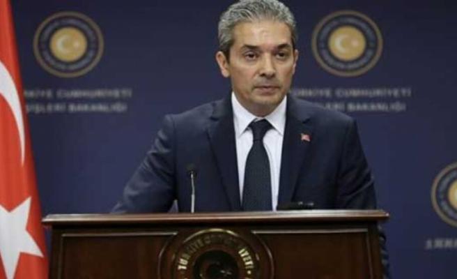 """Aksoy: """"Ege ve Akdeniz'de gerginliği artıran taraf GKRY ve Yunanistan"""""""
