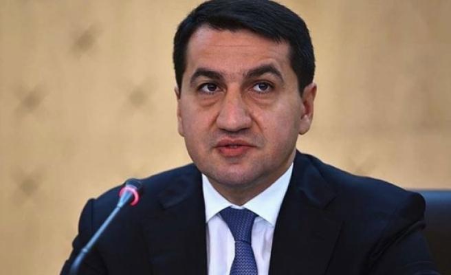 Azerbaycan Cumhurbaşkanı Müşaviri Hacıyev: Sivillere yıkıcı füzelerle saldırmak savaş suçudur