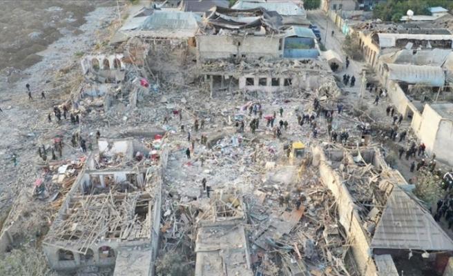 Azerbaycan'da Ermenistan'ın saldırılarında 91 sivil öldü, 400 kişi yaralandı