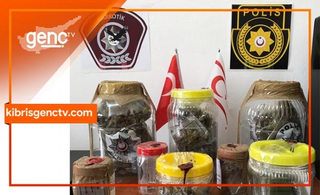 Boğazköy ve Hamitköy'de operasyon...3 kişi tutuklandı