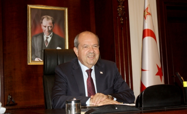 Cumhurbaşkanı Tatar'dan 29 Ekim mesajı