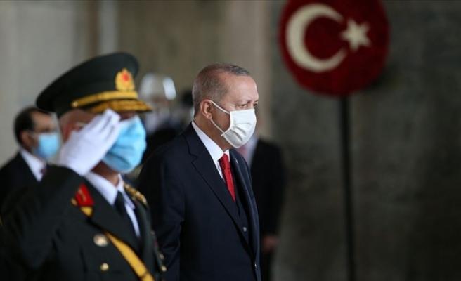"""Erdoğan: """"Birlik beraberlik ve kardeşlik içinde yürümeye devam edeceğiz"""""""