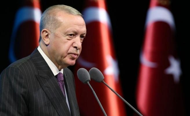 """Erdoğan: """"Cumartesi günü  yeni rezerv miktarını açıklayacağız"""""""