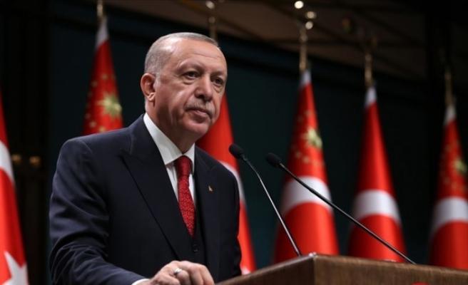 """Erdoğan: """"Devletimizin tüm imkanlarıyla vatandaşlarımızın yanındayız"""""""