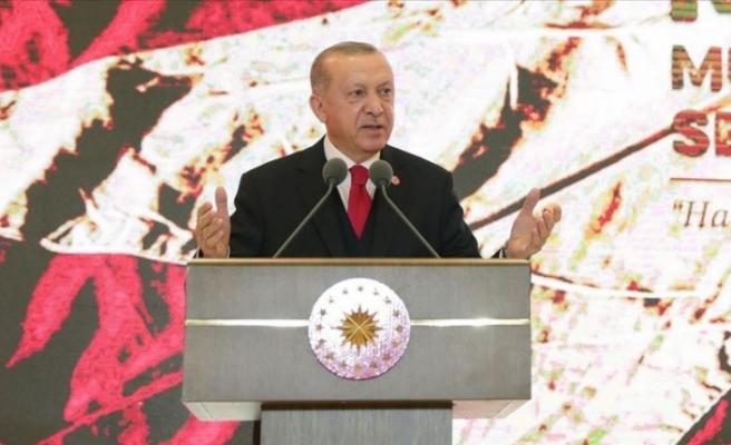 """Erdoğan: """"En büyük gücümüz tarihi mirasımız"""""""