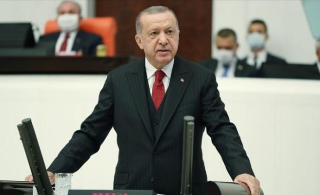 """Erdoğan: """"Hakkaniyet temelinde çözülmesi öncelikli tercihimiz"""""""