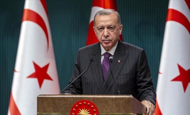 """Erdoğan: """"Maraş'ın bütünüyle kullanıma açılmasını temenni ediyoruz"""""""