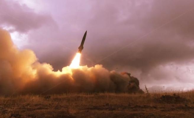 Ermenistan, Karabağ'daki sivil yerleşim yerlerine Tochka-U balistik füzeleriyle saldırıyor