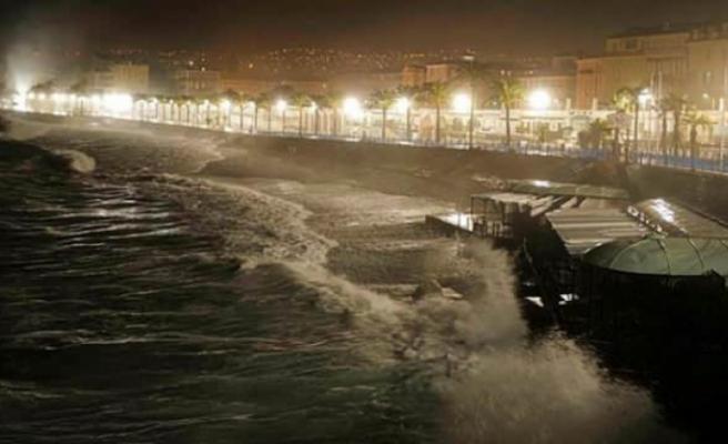 Fransa'yı ALex fırtınası vuruyor: 1 ölü, 11 kayıp