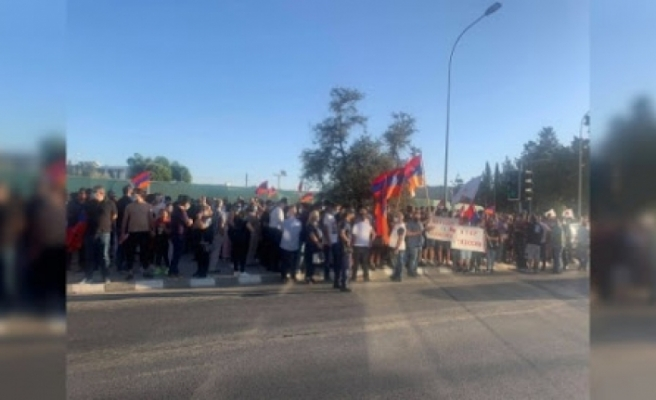 Güneyde Ermenistan'a destek yürüyüşü