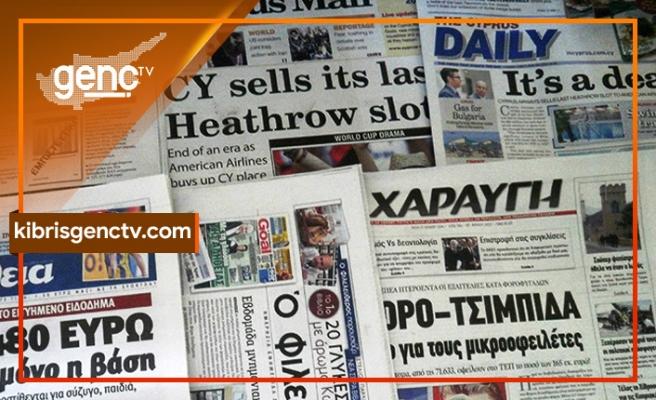 """KKTC Cumhurbaşkanı seçimi Rum basınında: """"Anahtar Erhürman'ın elinde"""""""