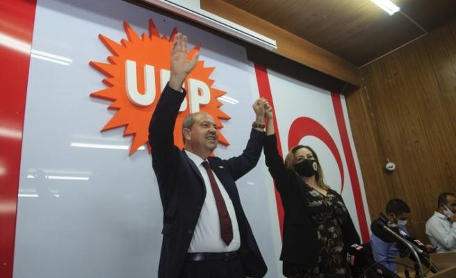 """Tatar: """"Bugün bir demokrasi sınavı verildi… Kıbrıs Türk halkının iradesine herkesin saygı duyması gerek"""""""