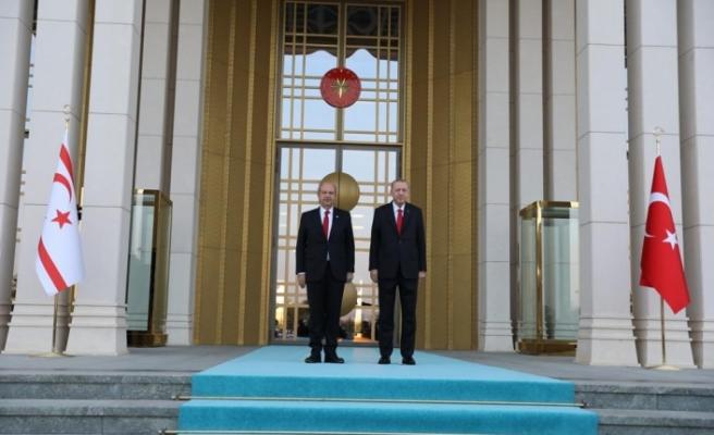 Tatar, Türkiye Cumhurbaşkanlığı Külliyesinde