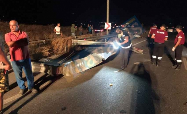 Trafiğe 2 can daha verdik!  Yılmazköy yakınlarında kaza...