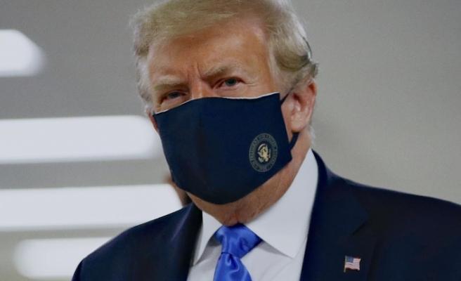 Trump: Maske takan da hastalığa yakalanıyor