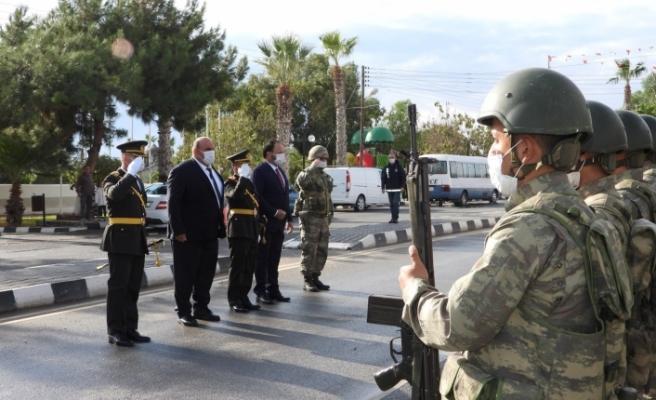 15 Kasım Cumhuriyet Bayramı İskele'de de törenle kutlandı
