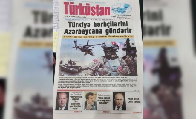 15 Kasım kutlamaları Azerbaycan basınında