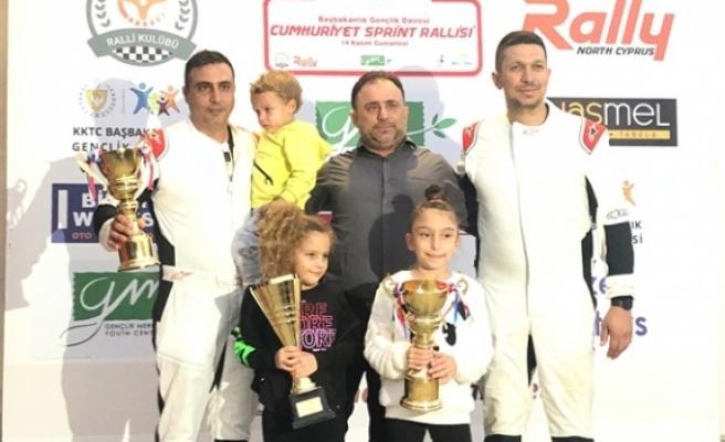 2020 Kuzey Kıbrıs Sprint Ralli Şampiyonası'nın son ayağı yapıldı