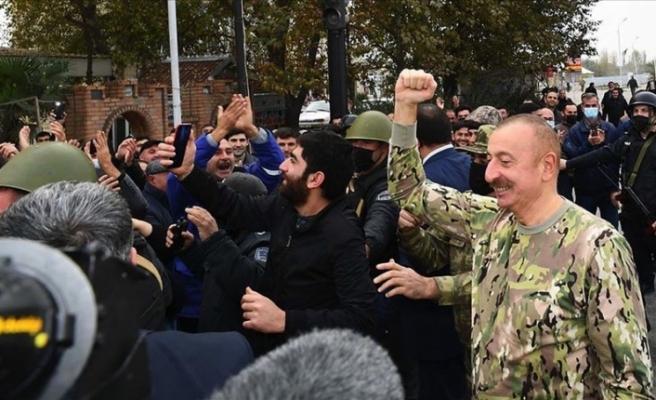 """Aliyev: """"Ermenistan, uluslararası mahkemelerde hesap verecek"""""""