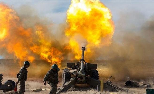 Azerbaycan ordusunun topraklarını kurtarmak için başlattığı operasyon sürüyor