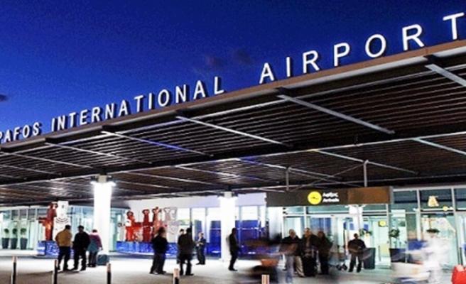 Baf Havaalanında uçuşlar duruduruldu