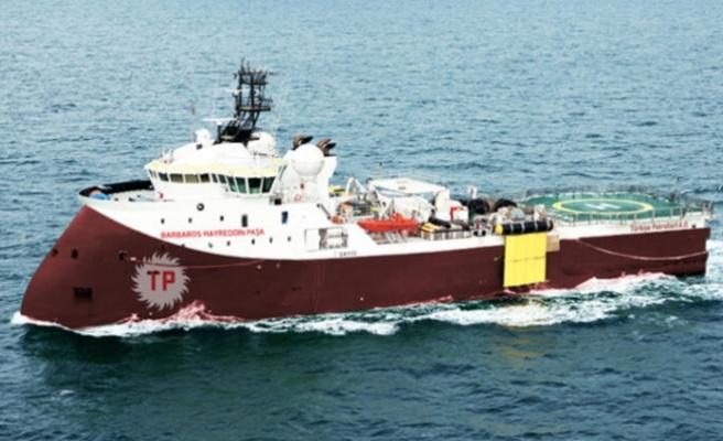 Barbaros gemisi için yeni Türk navtex'i… Şubat'a kadar kalıyor
