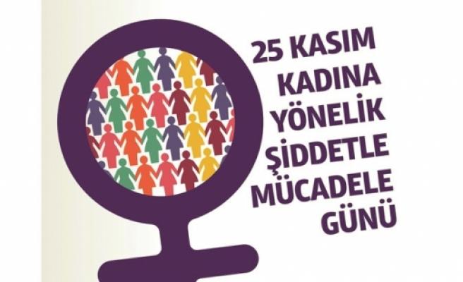 Bugün Kadına Yönelik Şiddete Karşı Uluslararası Mücadele Günü