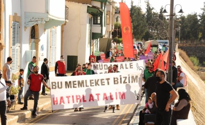 CTP Gençlik Örgütünden eylem