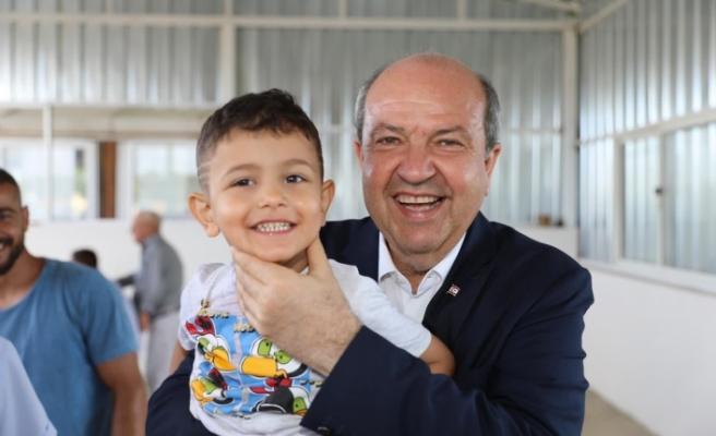 """Cumhurbaşkanı Tatar: """"Çocuklarımız bizlerden daha farklı haklara ve korumaya ihtiyaç duyan değerli varlıklarımızdır"""""""