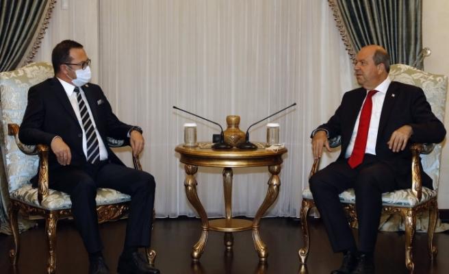 """Cumhurbaşkanı Tatar: """"Dayatma ile bir çözüm olamaz"""""""