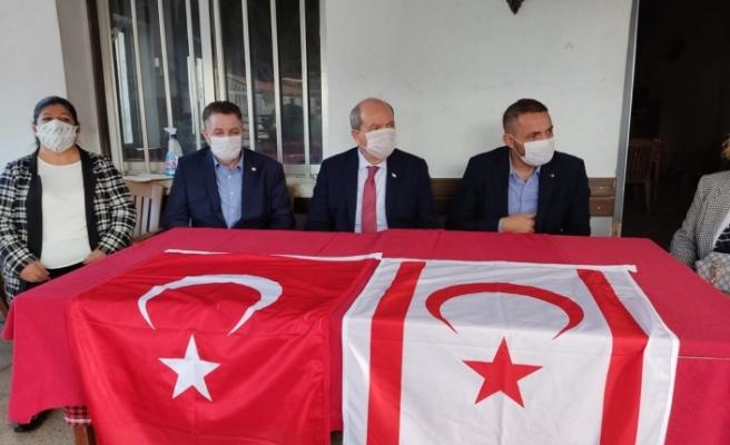 Cumhurbaşkanı Tatar:Devlet tüm imkanları ile bölge halkının yaralarını saracak