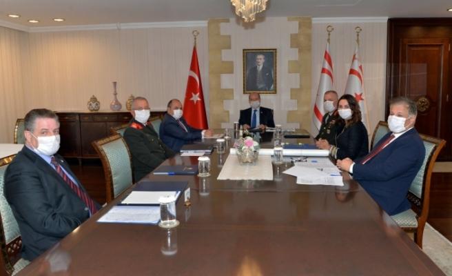 Cumhurbaşkanlığı'nda Üst Koordinasyon Kurul toplantısı