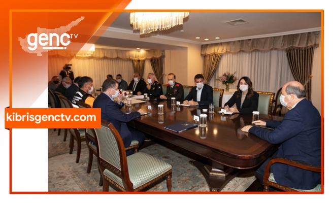 Cumhurbaşkanlığında doğal afetle ilgili durum değerlendirme toplantısı