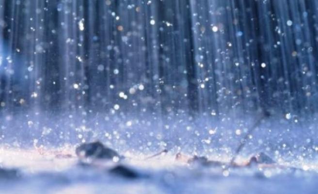 Dipkarpaz'da dün ve gece metrekareye 41 kilogram yağış düştü