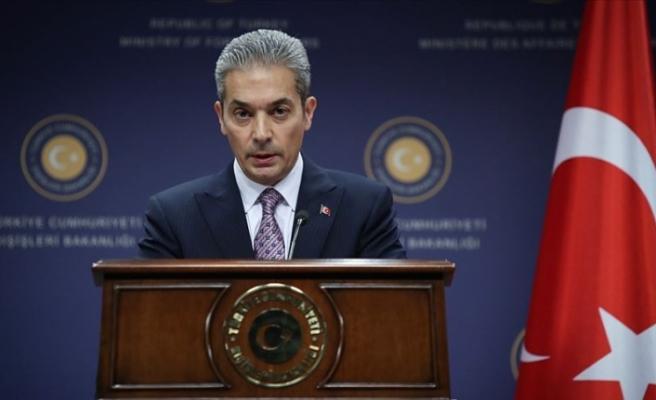 Dışişleri Bakanlığından Yunanistan Dışişleri Bakanı Dendias'a tepki