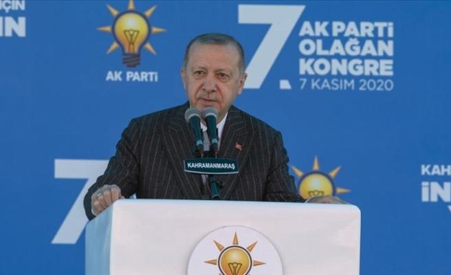 """Erdoğan: """"Ayın 15'inde Cumhur İttifakı olarak Sayın Bahçeli ile Kuzey Kıbrıs'ta olacağız"""""""