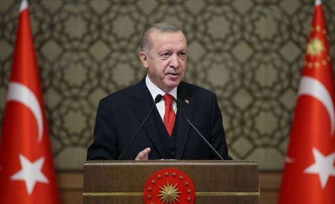 """Erdoğan: """"Doğu Akdeniz'de yakında müjdeli haberler alacağımıza inanıyorum"""""""