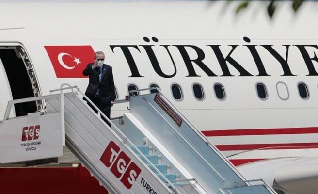 Erdoğan, KKTC'ye hareket etti