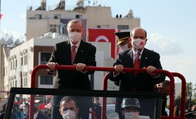 Erdoğan ve Tatar Maraş'ta