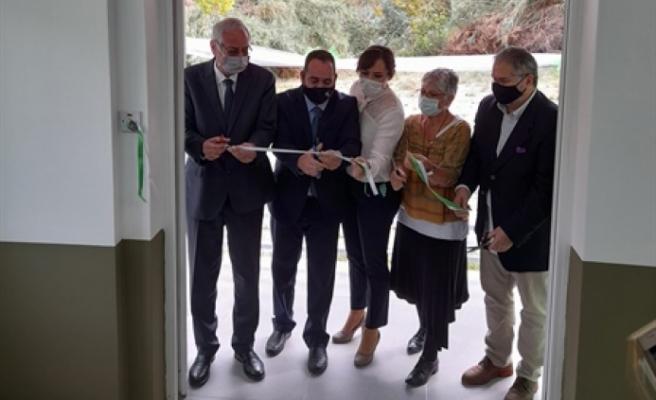 Girne Özel Eğitim Merkezinde spor salonunun açılışı gerçekleştirildi