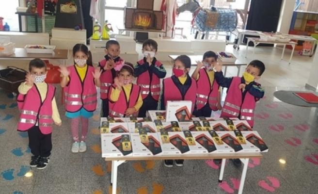Gönyeli Belediyesi'nden eğitime 160 tablet