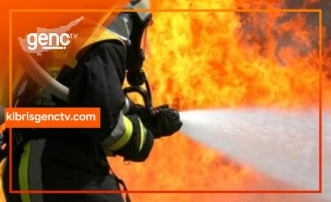 Hamitköy'de araç yangını