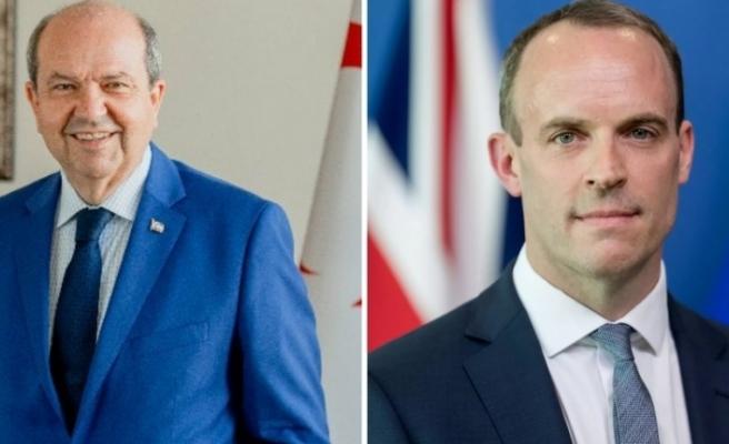 İngiltere Dışişleri Bakanı Raab Cumhurbaşkanı Tatar'ı kutladı