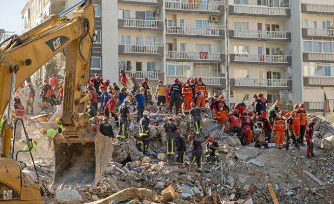 İzmir'deki arama kurtarma çalışmaları bu gece sona erecek