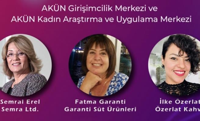 Kadın girişimci günü panelinde üç kadın girişimci deneyimlerini aktaracak