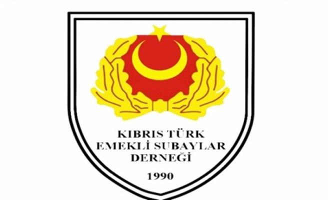 Kıbrıs Türk Emekli Subaylar Derneği Atatürk'ün vefatının 82'nci yıl dönümü nedeniyle mesaj yayımladı