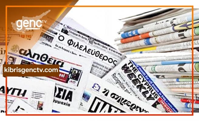 KKTC'nin 5 ülke tarafından tanınmaya hazır olması iddiaları Rum gazetelerine manşet oldu